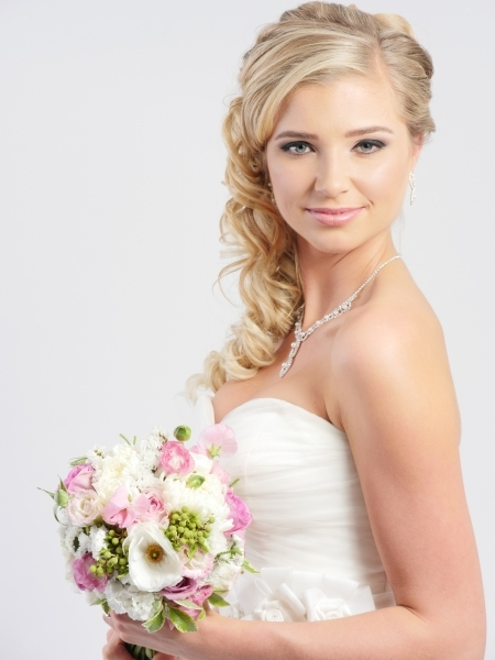 hair i come bride hairstyle