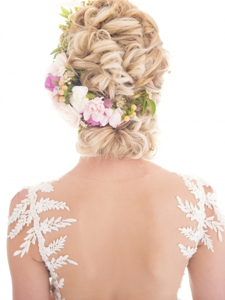 hair i come bridal hairstyle