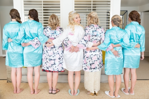 Bride & Bridesmaids hairstyles