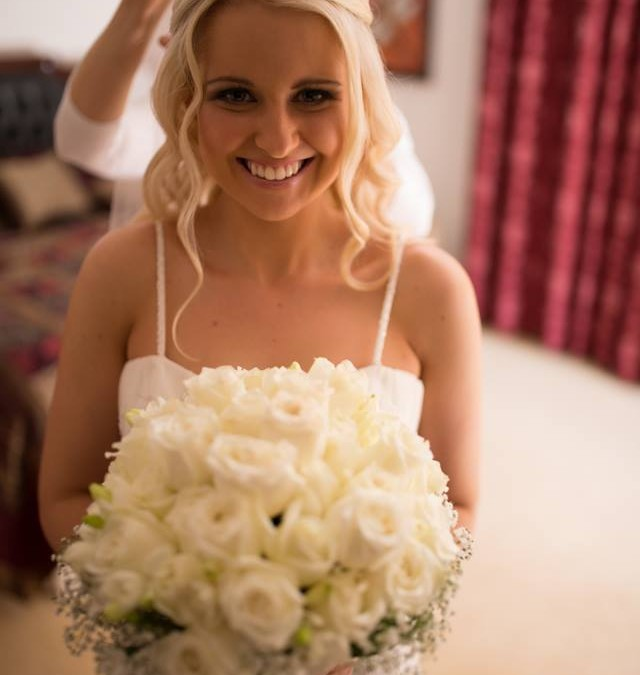 Beautiful Bridal Hair and Makeup!